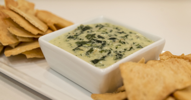 Keto Spinach Quark Cheese and Artichoke Dip Recipe