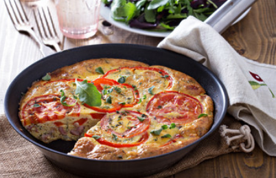 Best Easy Ecuadorian Ham and Vegetable Frittata Recipe