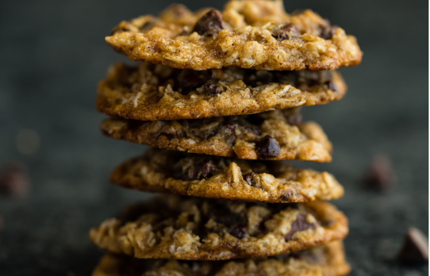 3 ingredient Gluten Free Peanut Butter Oatmeal Cookie Recipe
