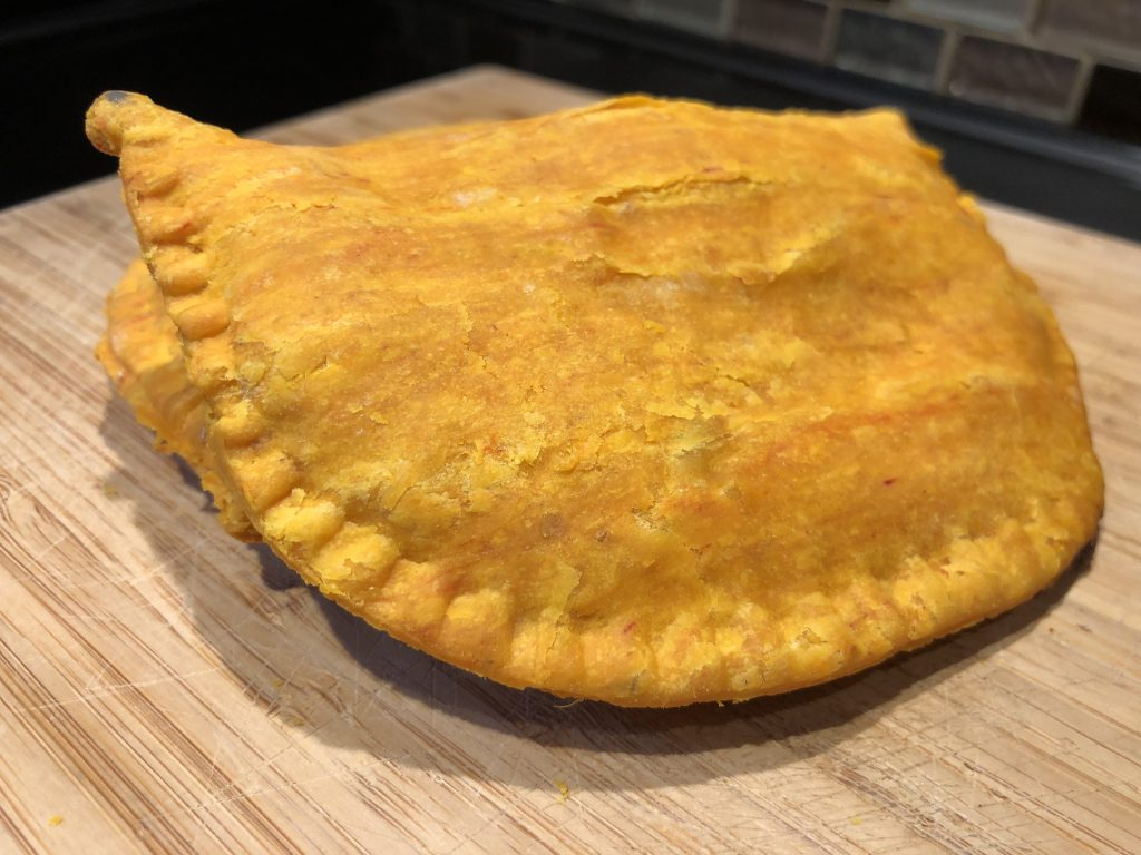 Easy Jamaican Beef Patty Recipe