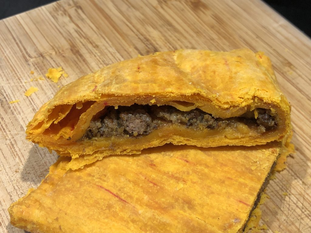 Jamaican Patty filled with Ground Beef Recipe