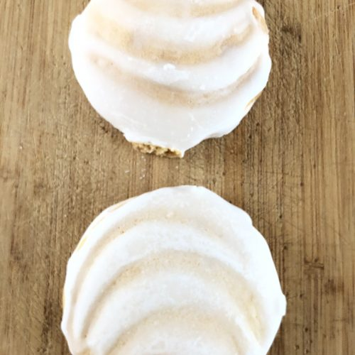 Portuguese frosted Sugar Cookies