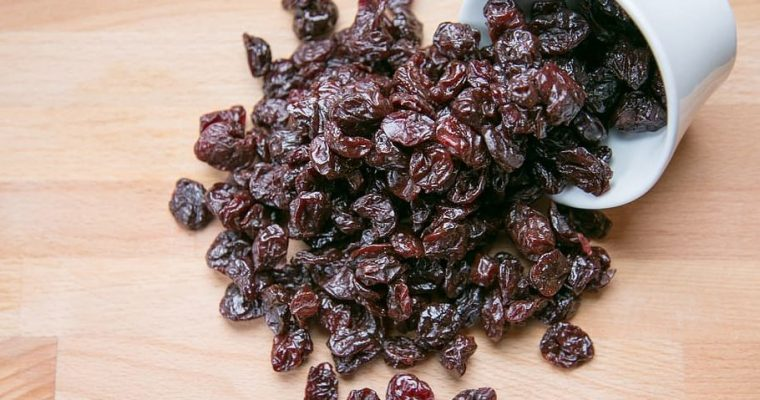 DIY DRY CRANBERRIES RECIPE