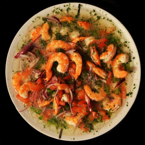 Easy Ecuadorian Shrimp Ceviche Recipe