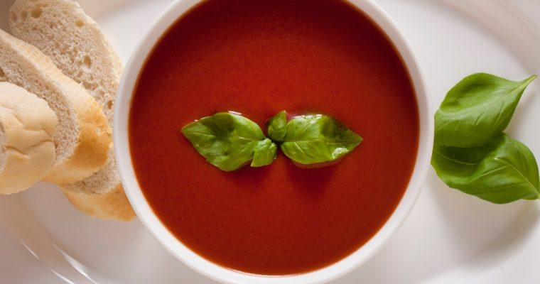 Easy French Tomato Soup Recipe With Homemade Croutons