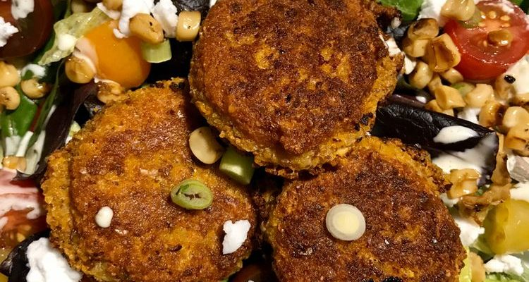 Sweet Potato Falafels Recipe