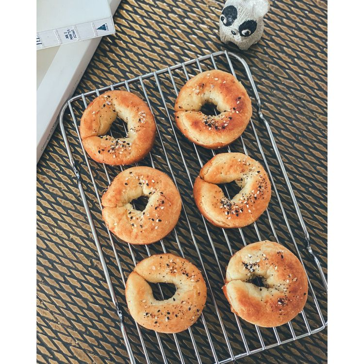 Gluten Free Keto Low Carb Bagels With Baking Powder And No Yeast