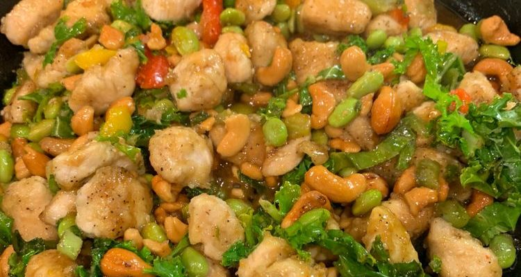 Easy Chinese Cashew Chicken Recipe