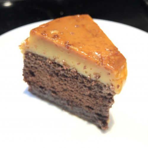 impossible cake chocoflan