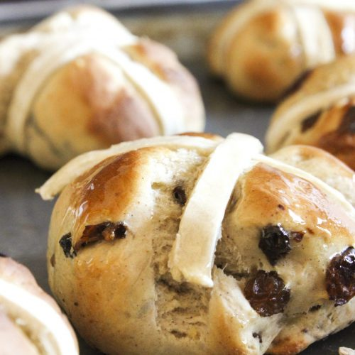 gluten free hot cross bun