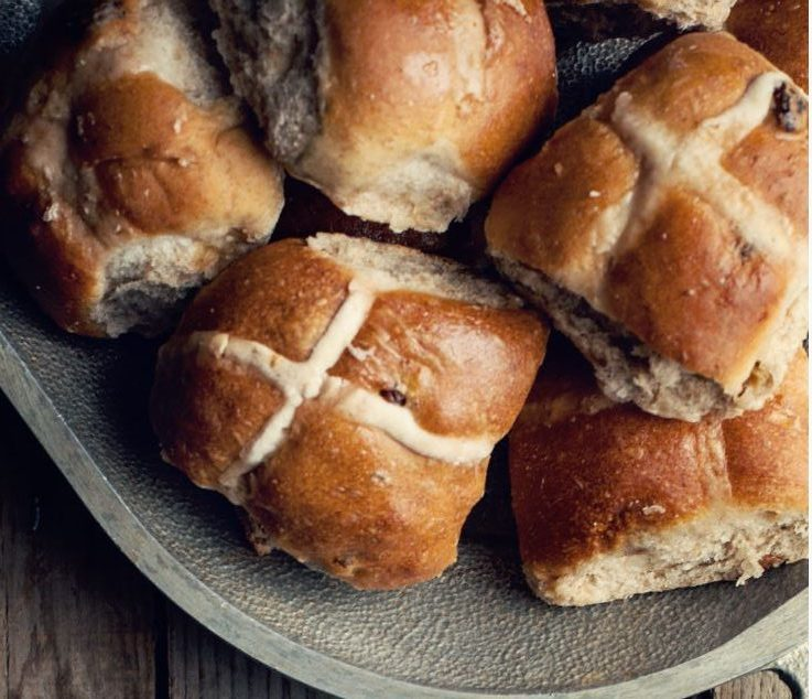 Hot Cross Buns Without Yeast Recipe