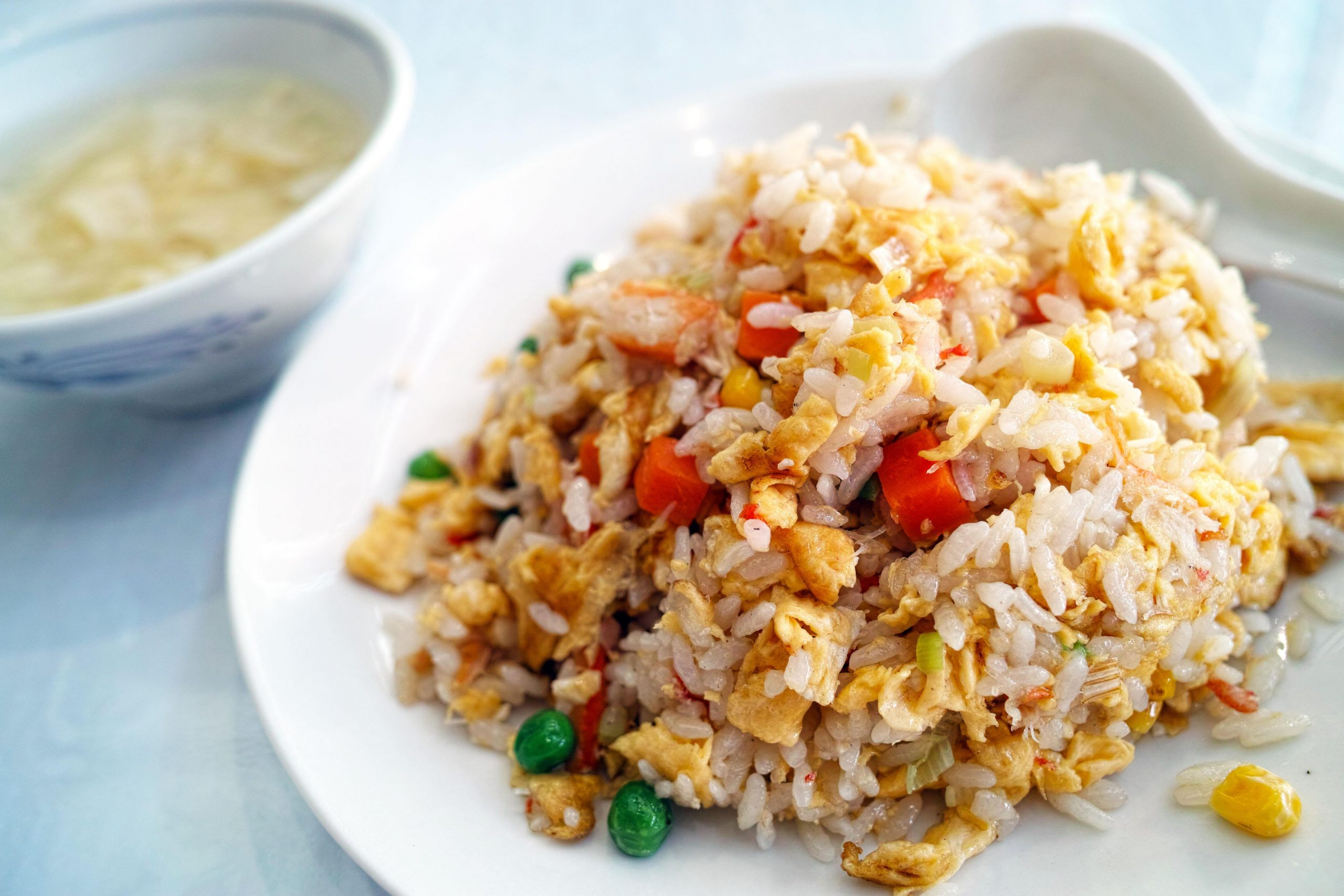 Southeast Asian Fried Rice With Chicken Recipe