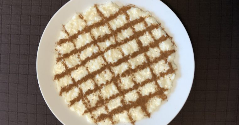 arroz doce sweet rice pudding