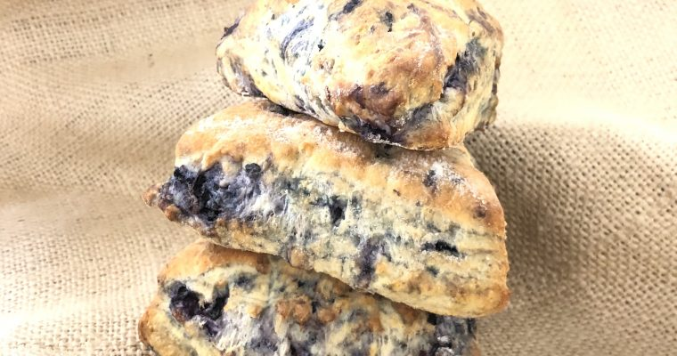 Easy Lemon Blueberry Buttermilk Scones Recipe Without Heavy Cream