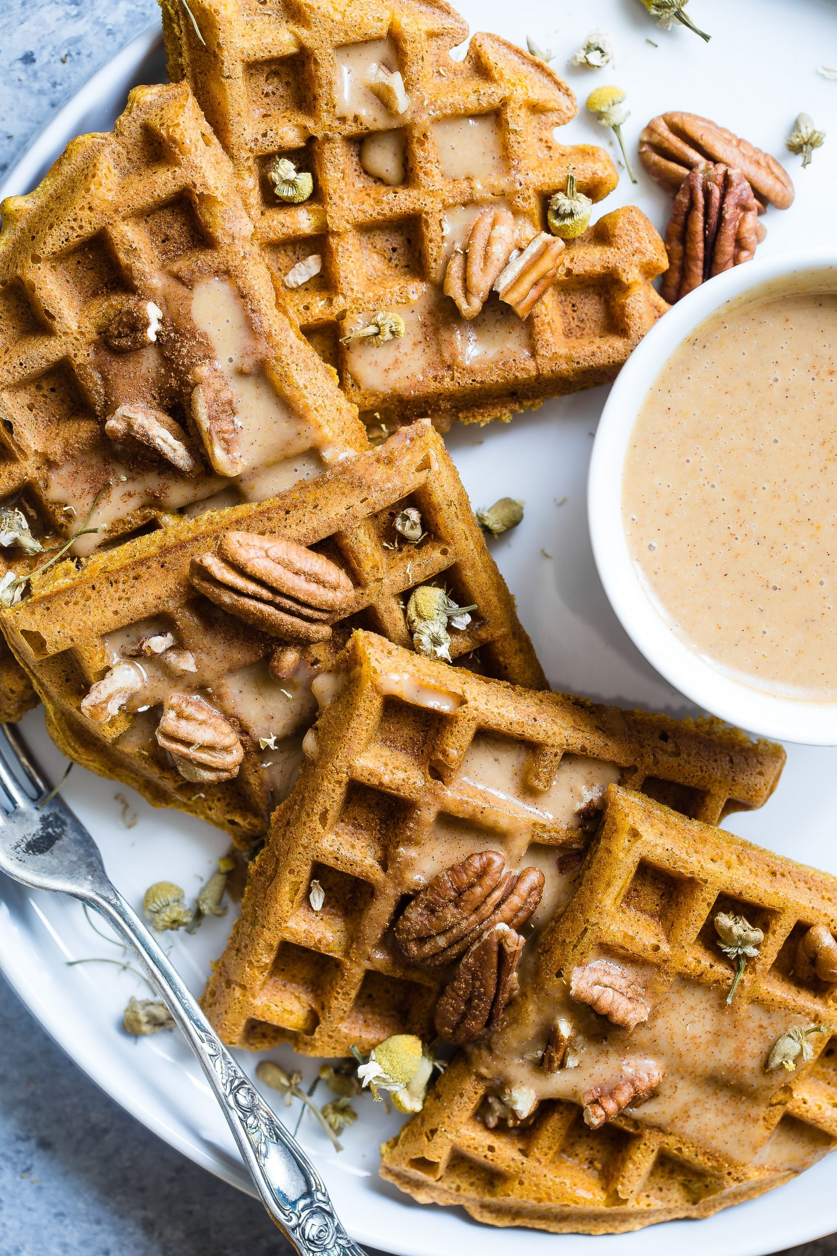 Healthy Whole Wheat Waffles Recipe With Applesauce And No Eggs