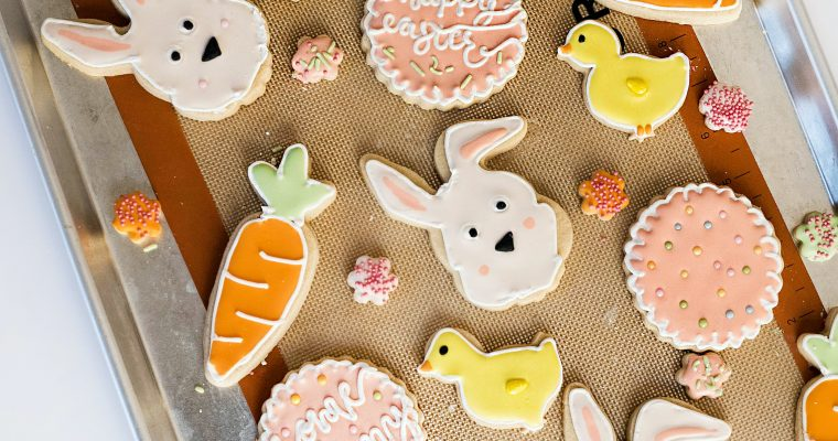 Classic Soft Cut Out Sugar Cookies With Icing Recipe
