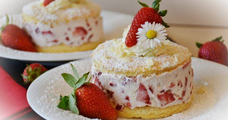 Homemade Strawberry Shortcake Buttermilk Biscuits Recipe