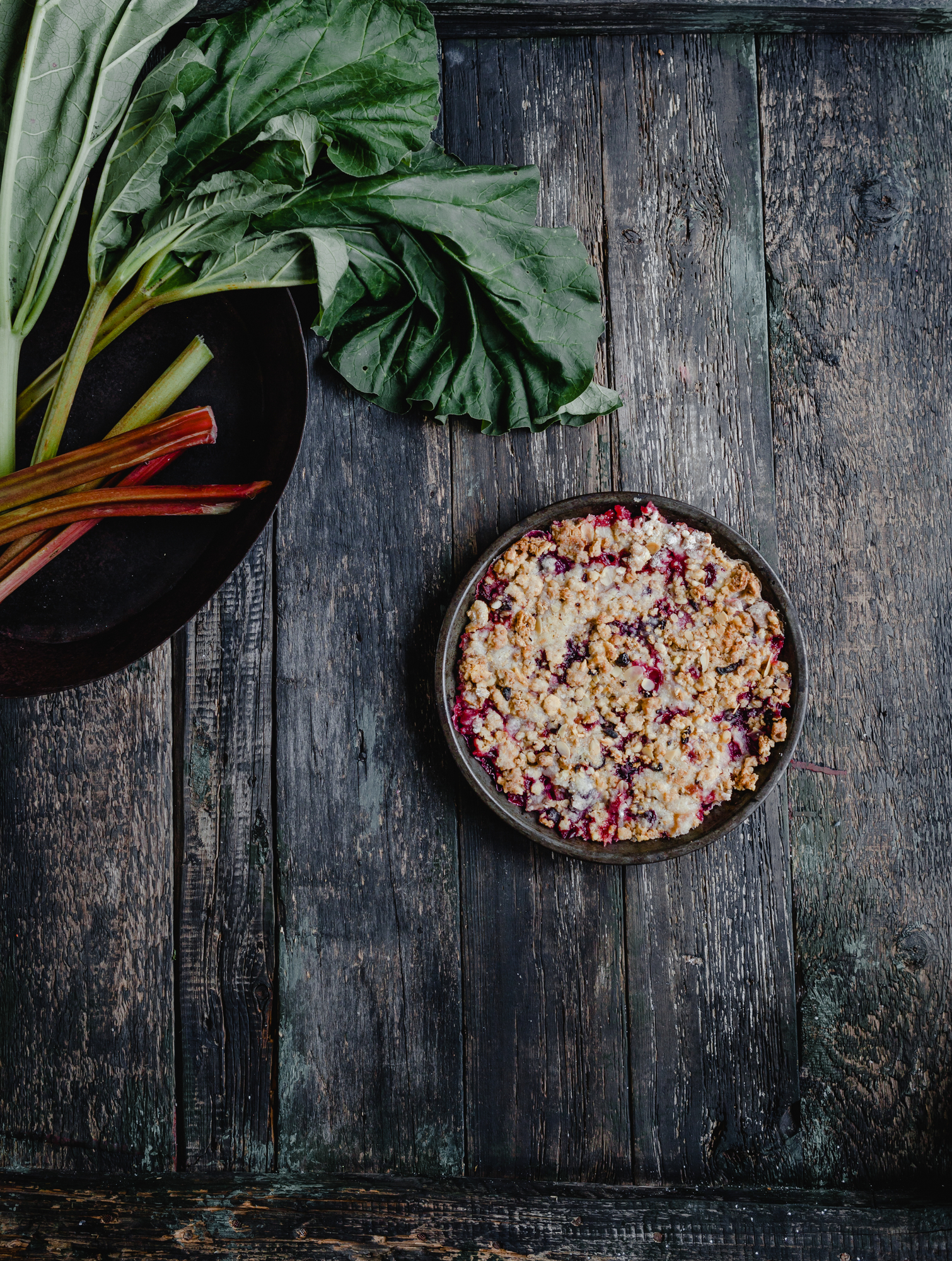 Old Fashioned Strawberry Rhubarb Pie Recipe With Streusel Crumble Topping