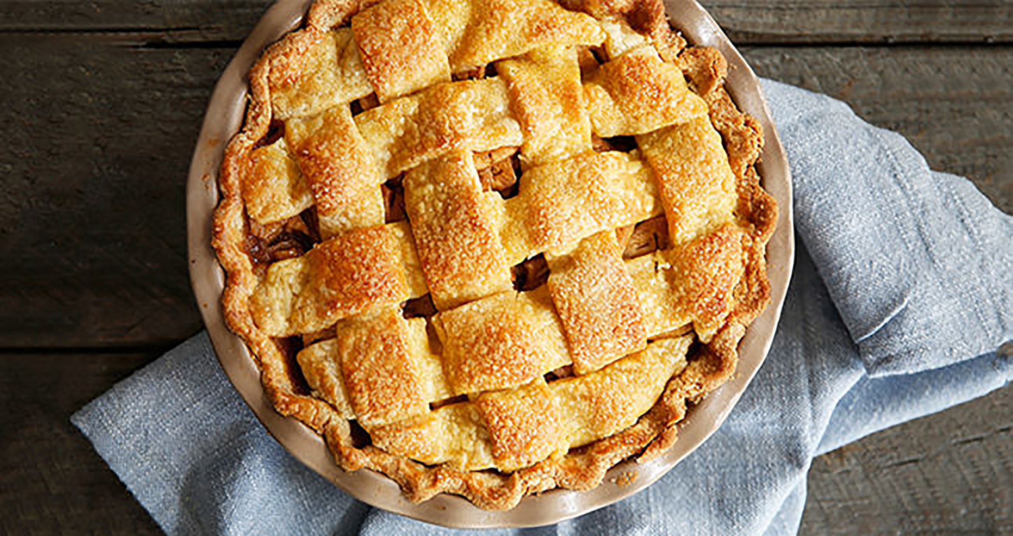 Homemade Deep Dish Apple Pie Recipe With Brown Sugar And Vanilla