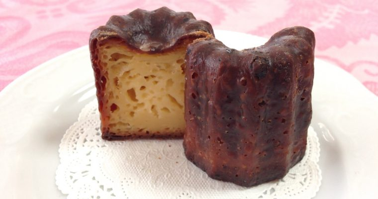 French Canelé Cake Recipe Without Rum And Without Beeswax