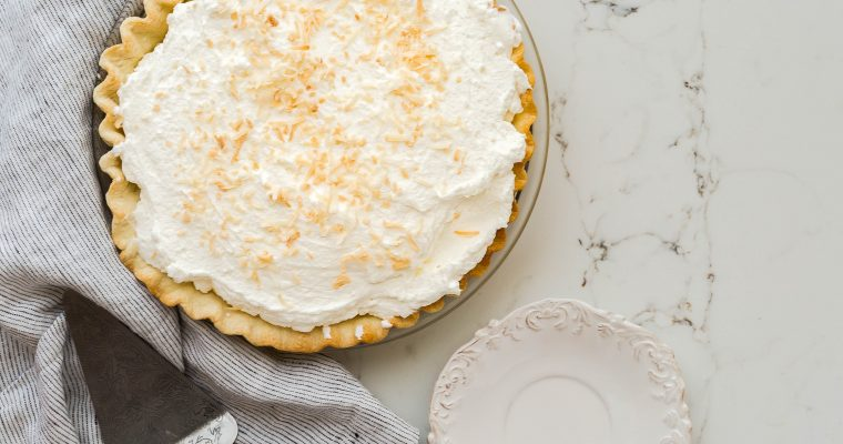 Coconut Cream Pie With Coconut Milk Recipe