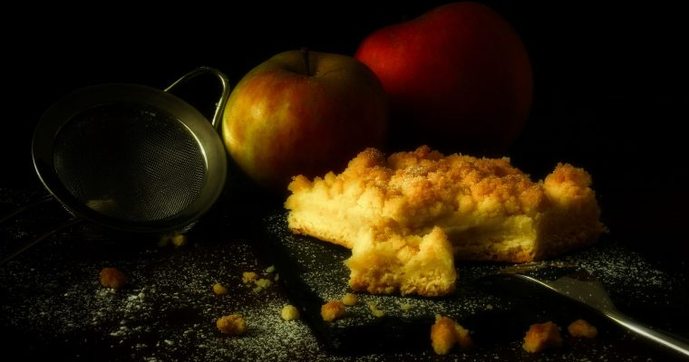 Apple Crisp Crumble Coffee Cake Recipe