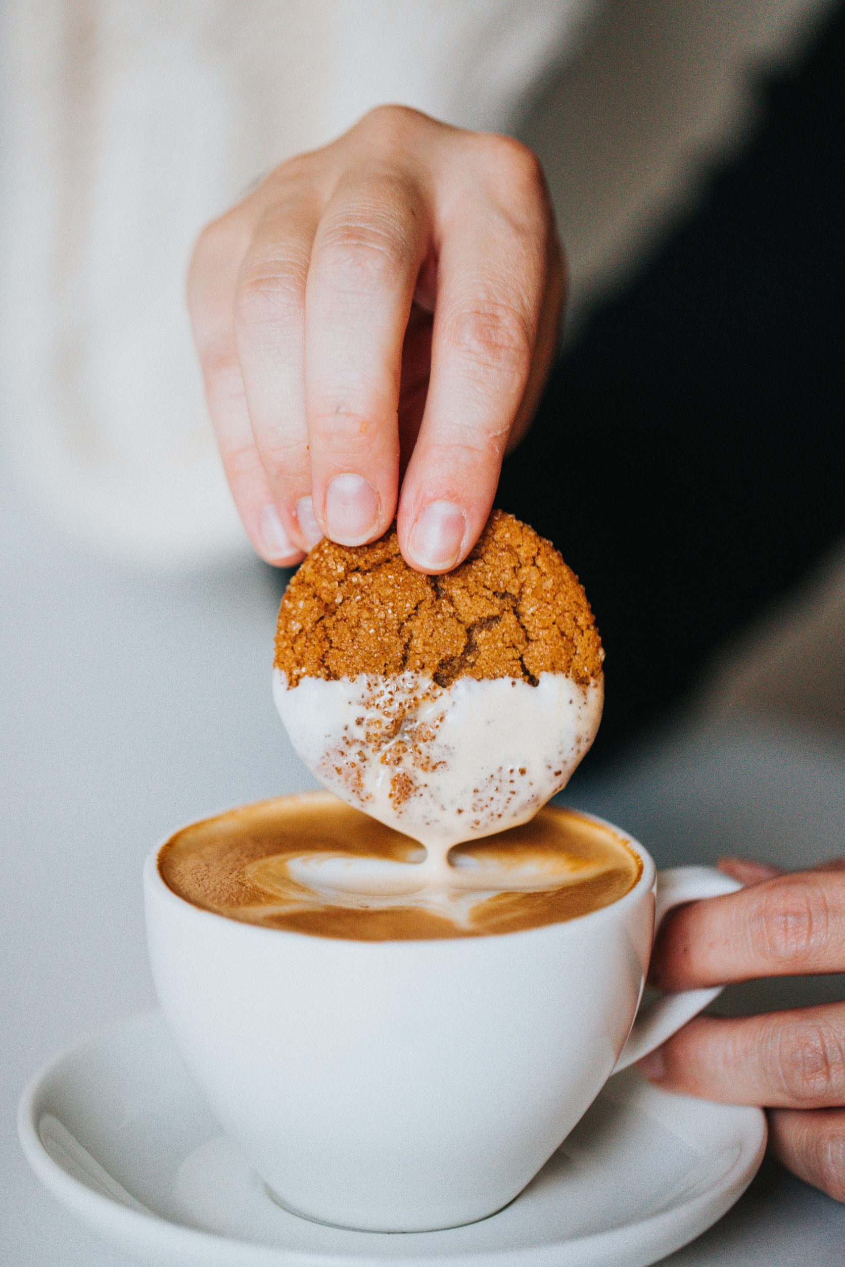Crispy and Chewy Fresh Ginger Molasses Cookies Recipe