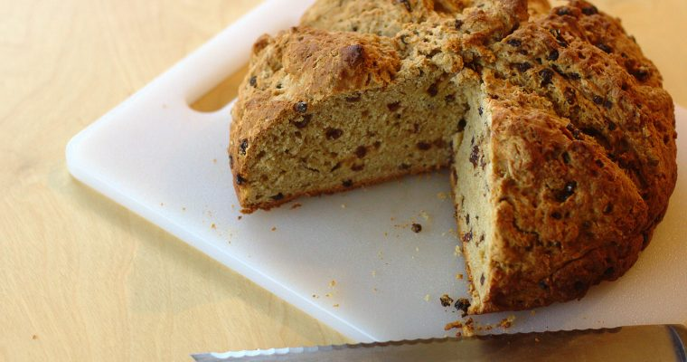 vegan irish soda bread