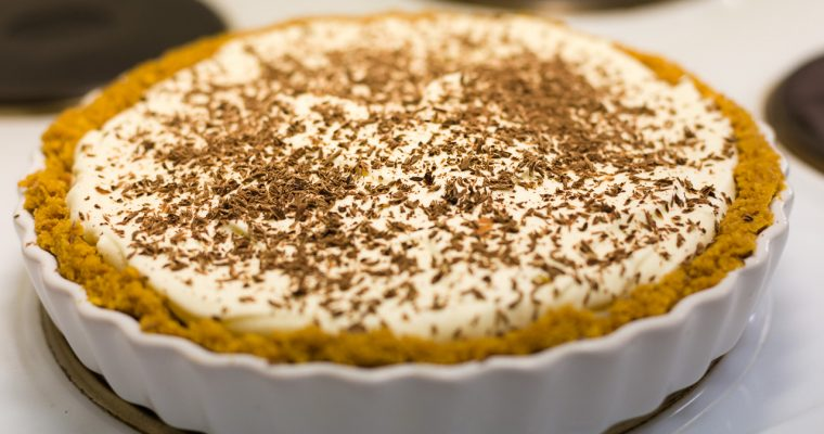 Traditional English Banoffee Pie Recipe