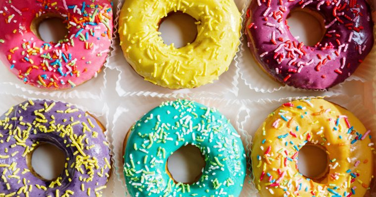 apple ring donuts
